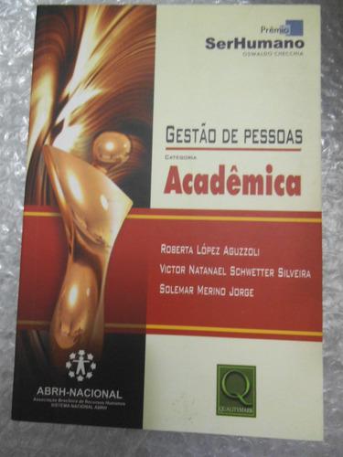 gestão de pessoas categoria acadêmica - roberta lópez