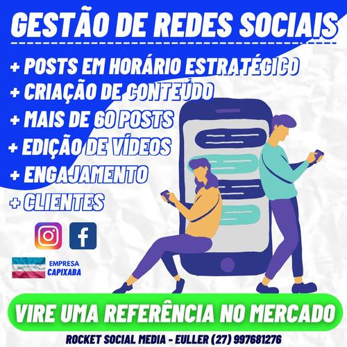 gestão de redes sociais / social media