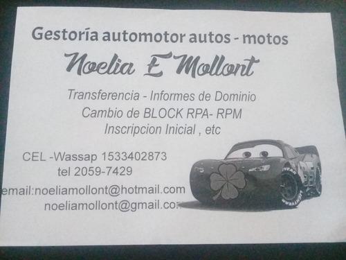gestoria auto y moto