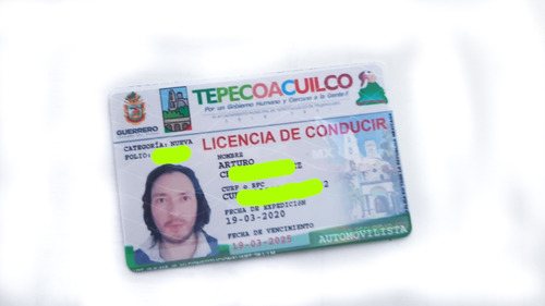 gestoría licencia de conducir por 5 años verificada garantía