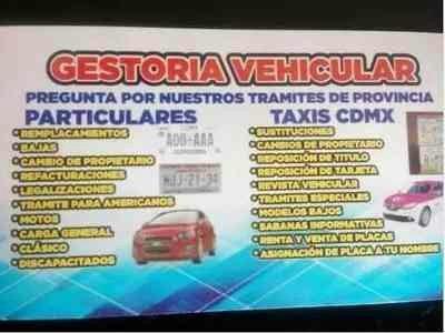 gestoria vehicular