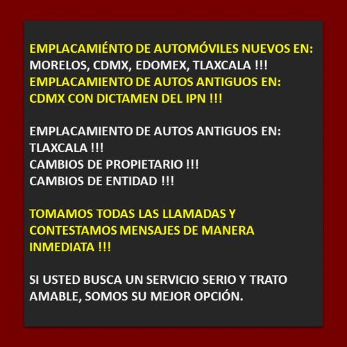 gestoria vehicular, morelos, cdmx, edomex, tlaxcala, rapidez