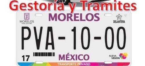 gestoria vehicular morelos, edo mex ,mex,