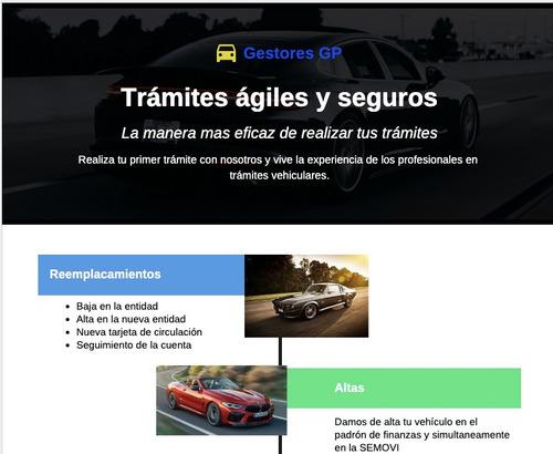 gestoria vehicular, tramites vehiculares, placas.