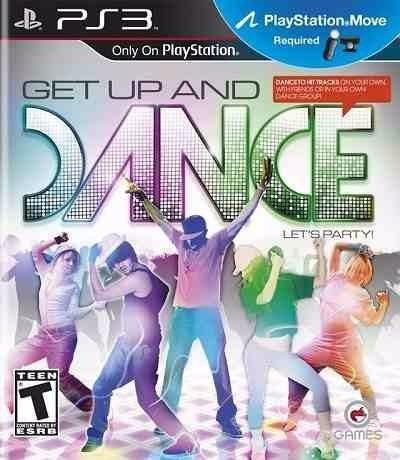 get up dance ps3 original lacrado - requer move