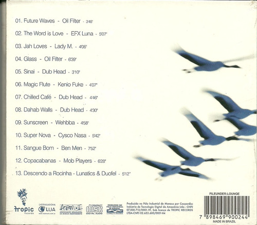get your flight... lounge music oil filter efx luna dub head