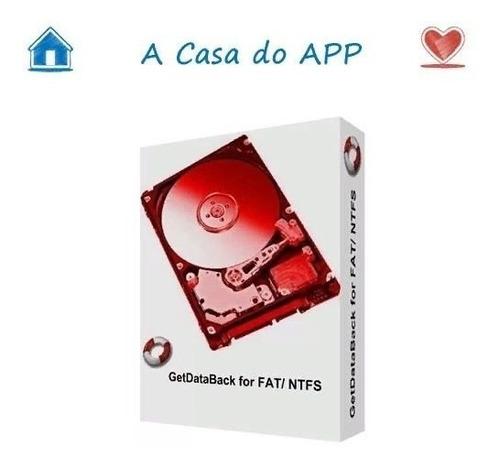 getdataback ntfs e fat32 recuperação de dados profissional