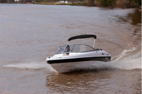 geuna f 150 - yamaha 4 tiempos 50 hp - 100 hs service hecho!