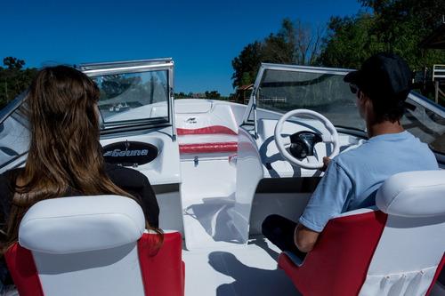 geuna f540 con evinrude e-tec 60 hp 0km 2018