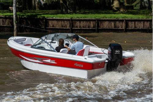 geuna f540 con evinrude e-tec 90 hp 0km 2018