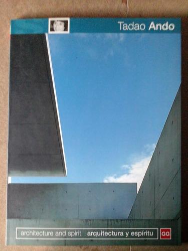 gg libro tadao ando arquitectura y espiritu
