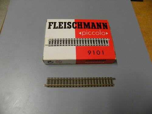 ggh fleischmann 9101 vía recta escala n   p/ minitrix arnold