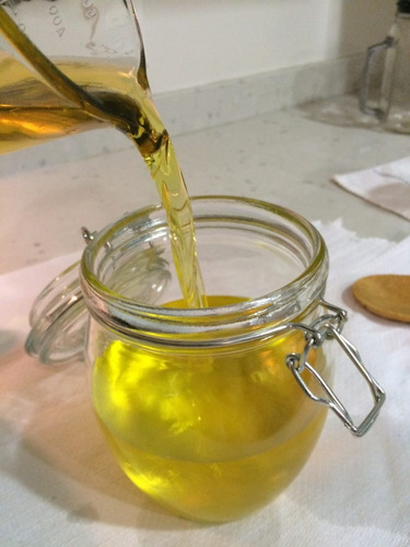 ghee de mantequilla clarificada y purificada 0.5 litro