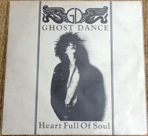 ghost dance vinyl single heart full of soul super raro