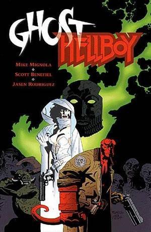 ghost/ hellboy hq impotada - edição especial  capa cartonada