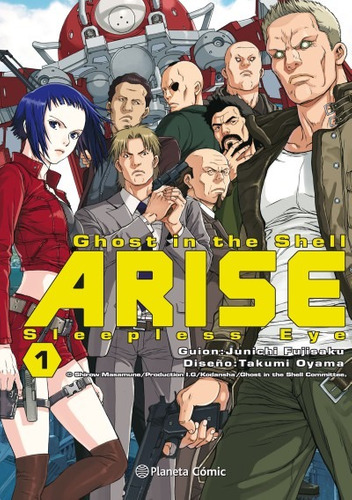 ghost in the shell arise nº 01(libro seinen (cómic adulto))
