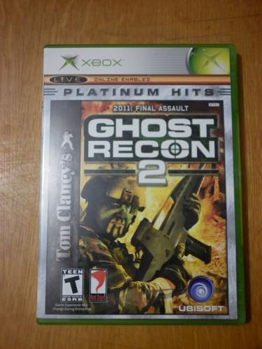 ghost recon 2 para x-box