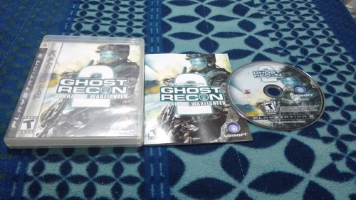 ghost recon advanced warfighter 2 completo play station 3