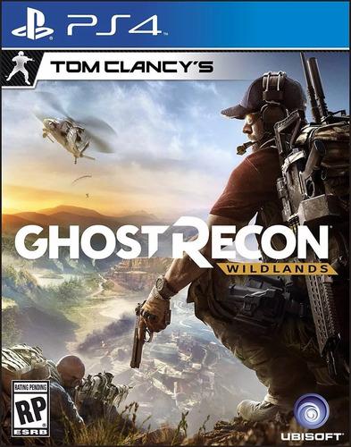 ghost recon --  wildlands tom clancy's playstation 4