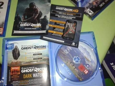 ghost recon wuiland ps4