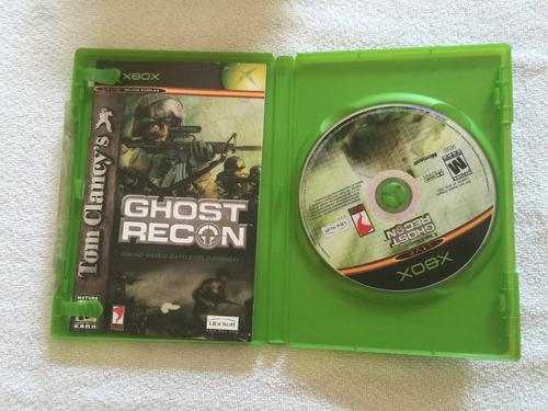 ghost recon xbox primeira geração.(um  clasico )