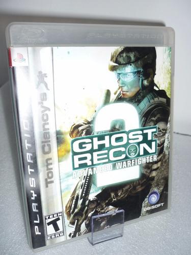 ghost recon2 advanced warfighter ps3 orig usad disponi