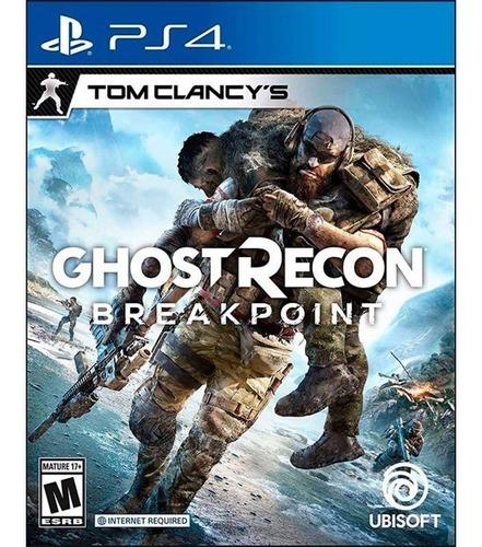 ghost recond breakpoints - ps4 fisico nuevo & sellado