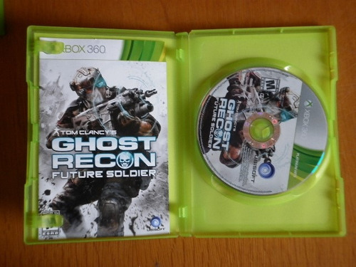 ghost recoon future soldier para x-box 360