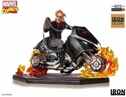 ghost rider - cccxp 2018 - exclusivo - iron studios