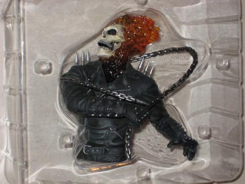 ghost rider gift set boxset cut 2 discos dvd + figura ghost