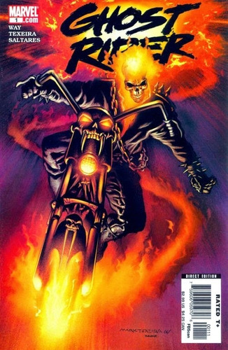 ghost rider vol 6 cómics digital español