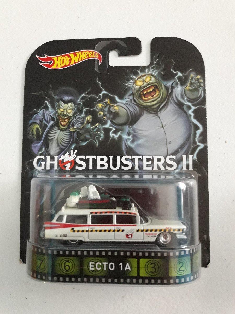 Ghostbuster Ecto 1a - Hot Wheels Retro Entertaiment