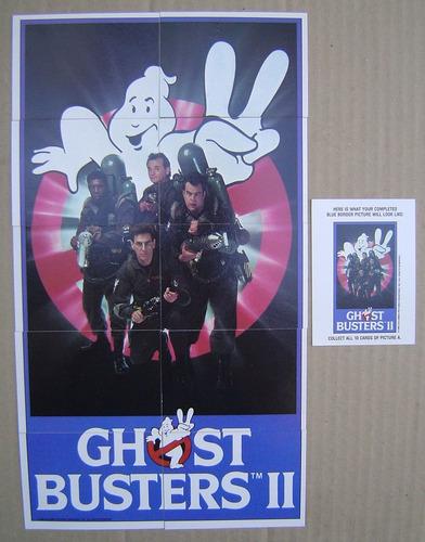 ghostbusters cazafantasmas coleccion de tarjetas completa