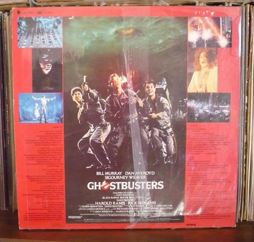 ghostbusters lp soundtrack los cazafantasmas