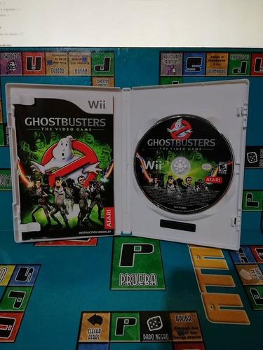 ghostbusters pa consola wii nintendo usado original