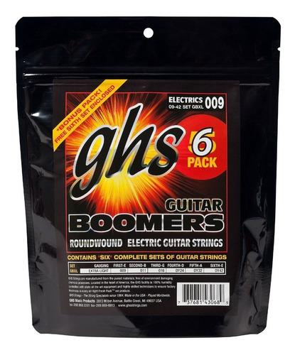 ghs strings boomers 6 pack 0.9 / 0.42