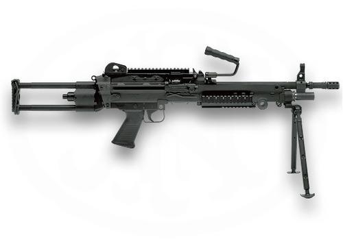 gi joe armas, m-249,con tripie.