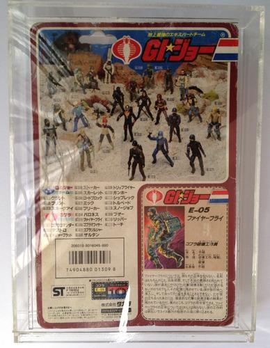 gi joe cobra 1986 takara japon firefly case tipo afa op4
