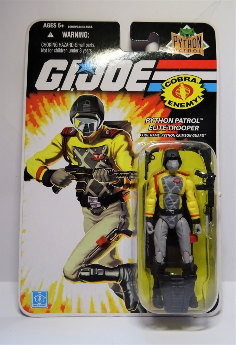 G.i. Joe  Cobra Enemy  - Python Crimson Guard