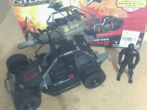 gi joe ninja commando 4x4 - retaliation