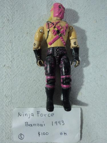 gi joe ninja force banzai 1993 #1