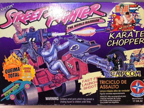 gi joe veículo raríssimo nunca montado estrela capcom 1993!
