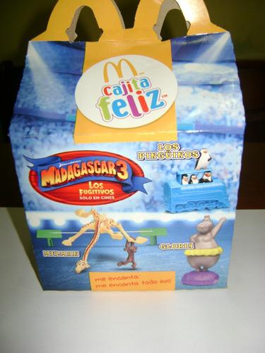 gia trapecista madagascar 3 mc donalds cajita feliz 2012