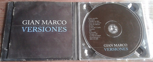 gian marco versiones unica ed presentacion digipack cd
