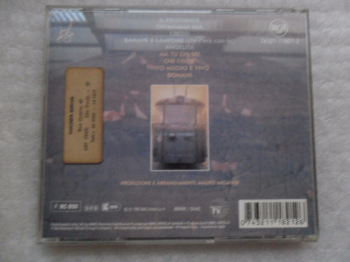 giani morandi - morandi morandi cd importado italia 1992