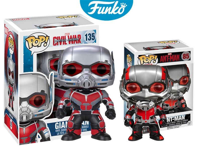 Giant Man Y Ant Man Funko Pop Pelicula Civil War Set