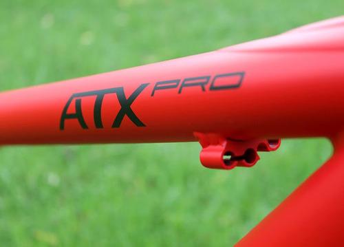 giant mtb atx cuadro bicicleta 19  rojo y negro