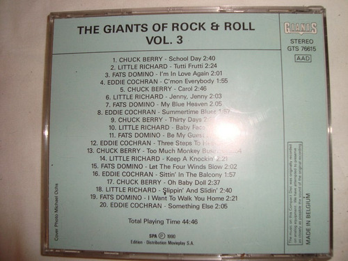 giants of rock & roll chuck berry richard audio cd caballito