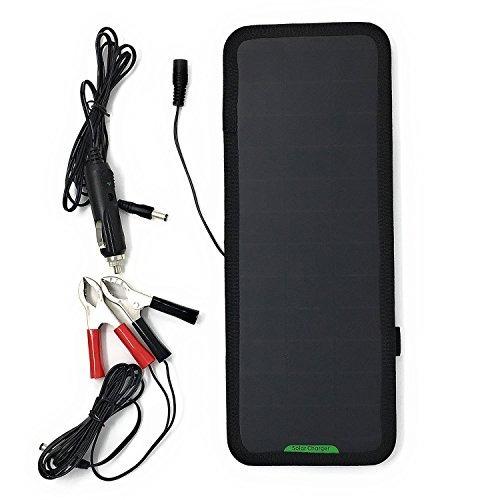 giaride 18v 12v 75w cargador de batería solar del coche s