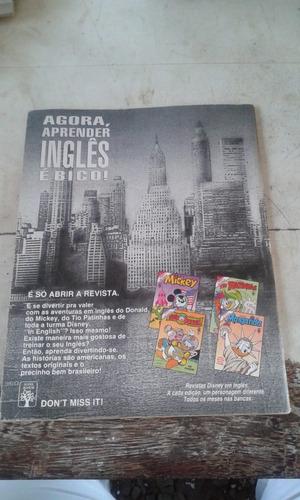gibi 40 anos da revista pato donalt n 1 frete r$ 12,00
